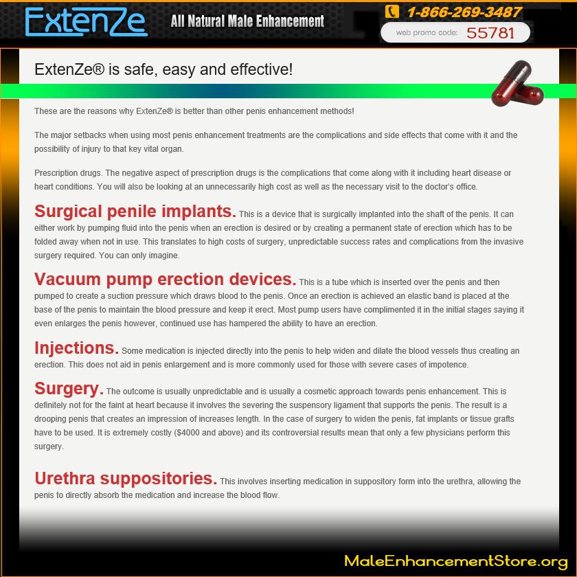 Extenze Original Formula Vs Maximum Strength